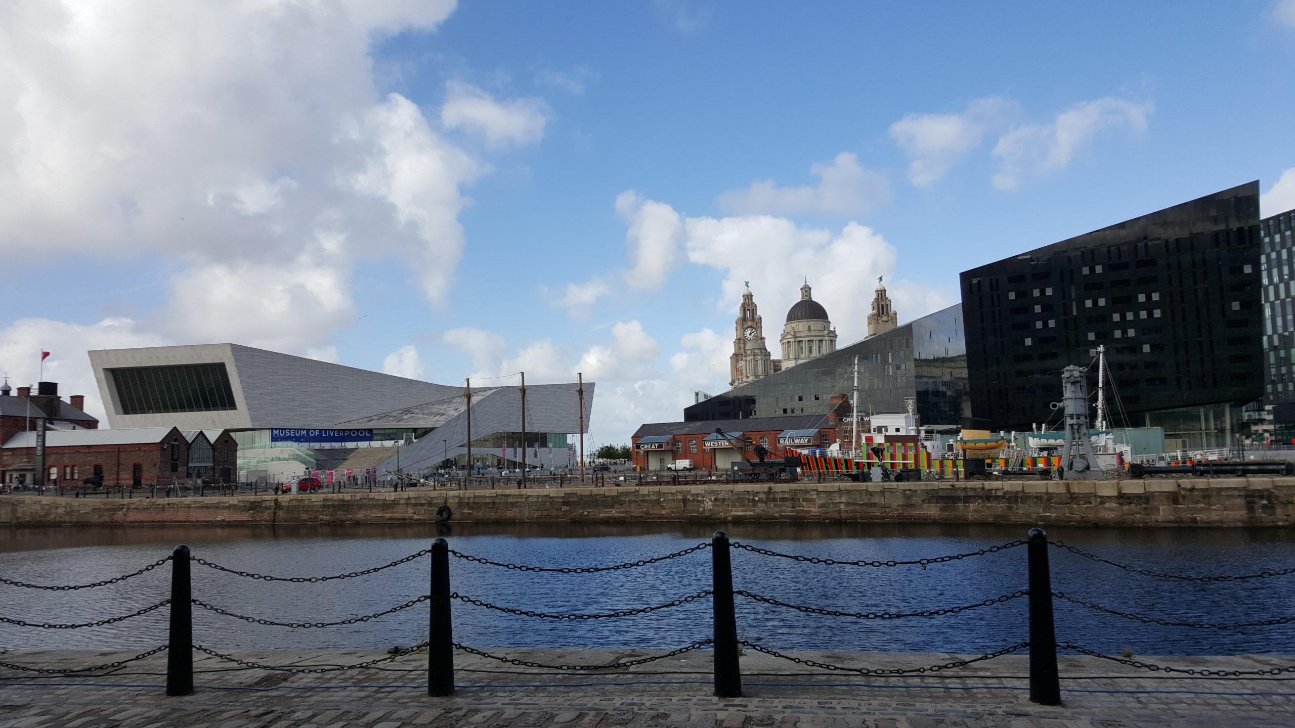 Merseyside view of Liverpool