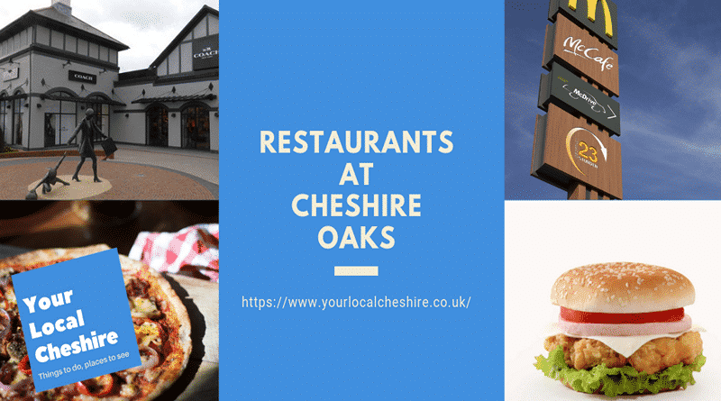 restaurants at Cheshire Oaks Chester