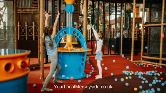 Play centres in Liverpool