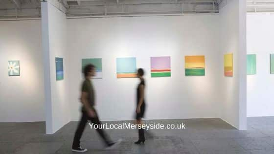 Visit an art gallery in Liverpool when it is raining